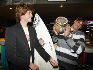 Thomas Baché et Fabrice Gelez - photo Xavier Gès