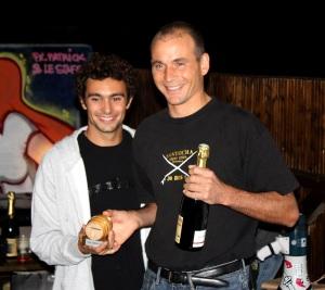 Benjamin Foulet et Vincent Verdier: le Santosha Surf Club en force