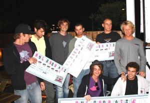 les vainqueurs et le jury