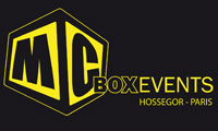logo MC BOX EVENTS agence évènementielle de sports de glisse