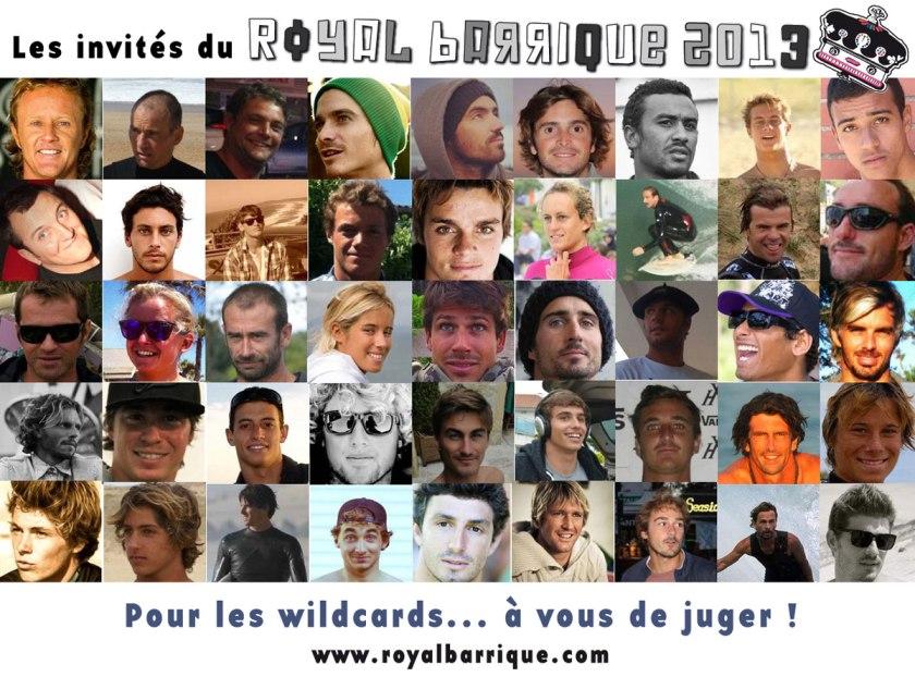 Les invités du Royal Barrique 2013