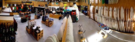 Rip Curl Technical Store à Hossegor - zone de Pédebert