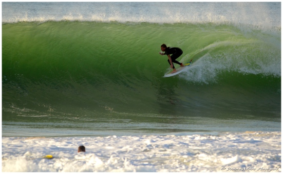 Charly Quivront full speeed. Photographe : Jean Marc Amoyal