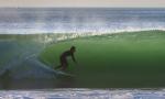 Une vague qui donne envie d'y aller. Rider : Paul Lou Laborde - Photographe : Olivier Marci