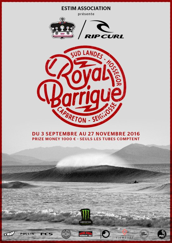affiche Royal Barrique 2016