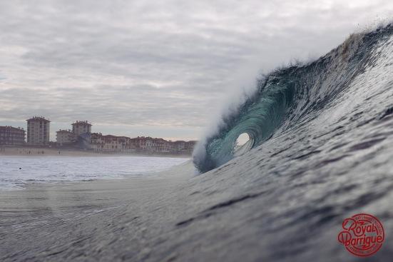 photo aquatique - vague de la gravière hossegor